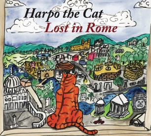 Harpo the Cat, Lost in Rome Cover